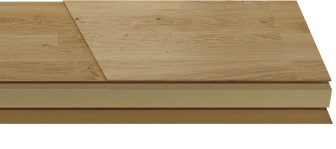 Laminate Floorboard Construction
